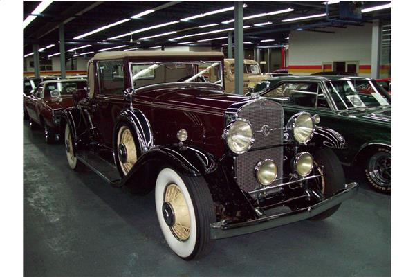 1931 Cadillac Lasalle 340 Convertible Coupe Rumble Seat